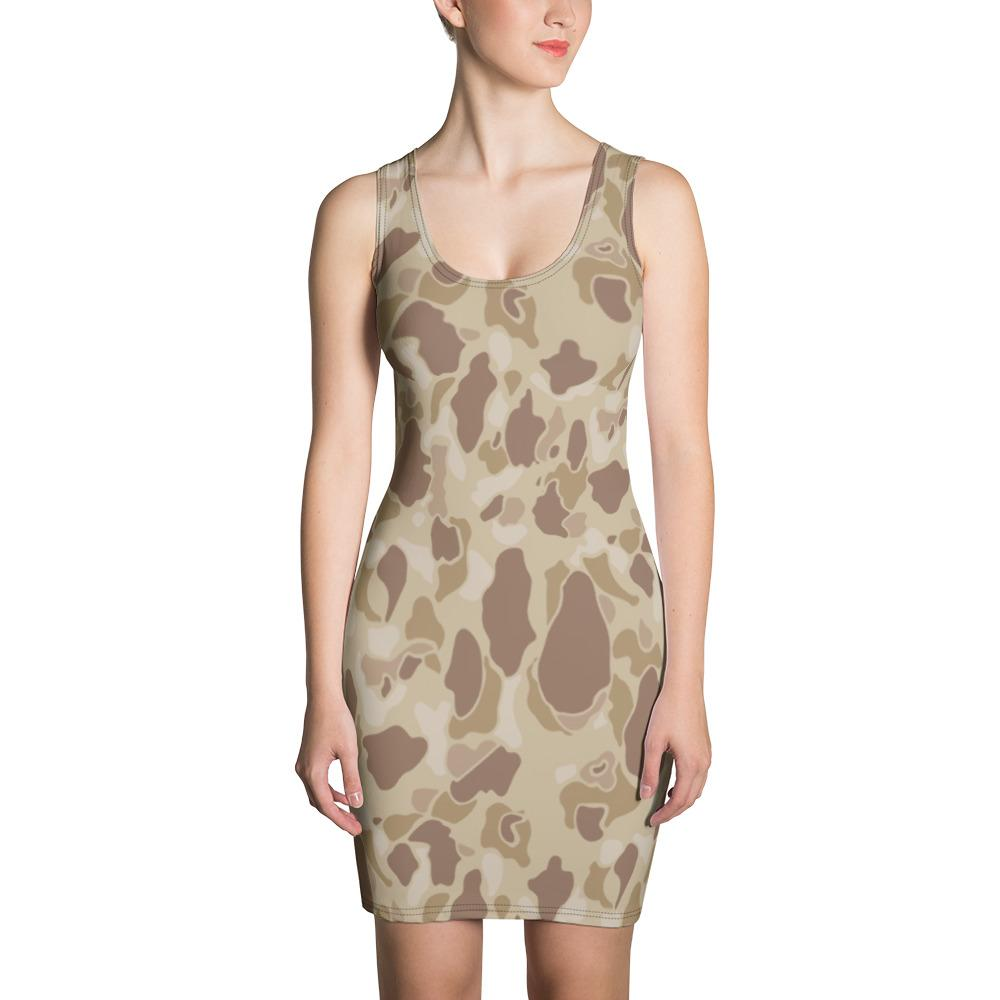 US WWII Duck Hunter Autumn Camouflage Dress