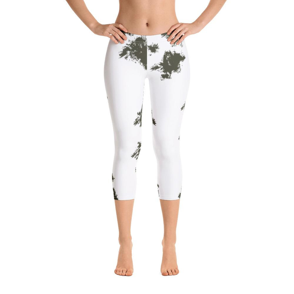 German Schneetarn Capri Leggings