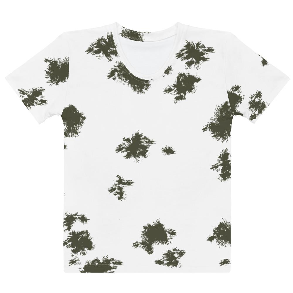 German Schneetarn Camouflage Women's T-shirt