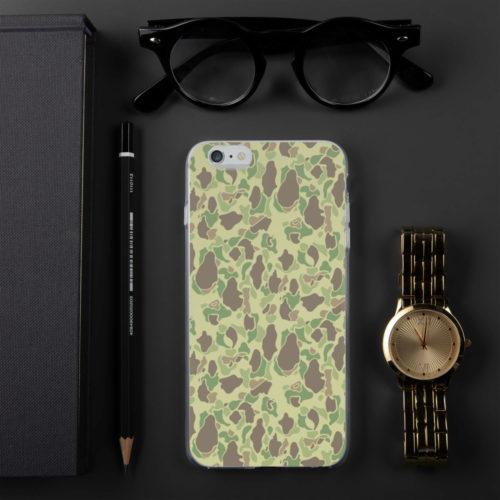 US WWII Duck Hunter Summer Camouflage iPhone Cases