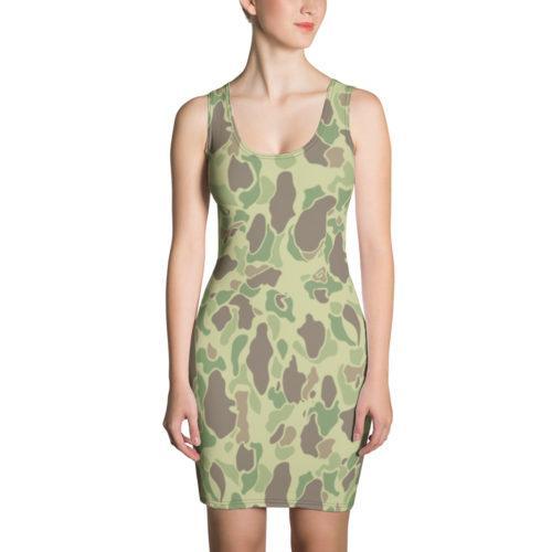 US WWII Duck Hunter Summer Camouflage Dress