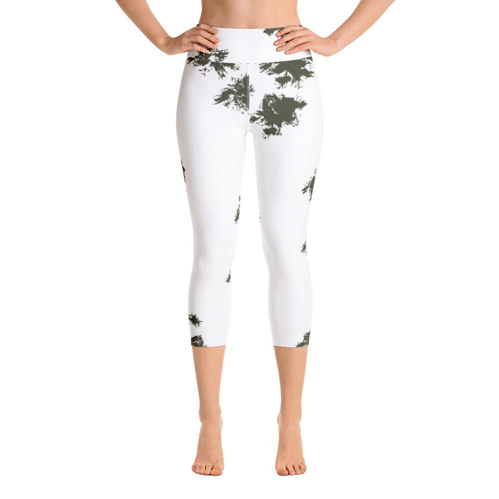 German Schneetarn Yoga Capri Leggings