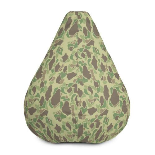 US WWII Duck Hunter Summer Camouflage Bean Bag COVER ONLY