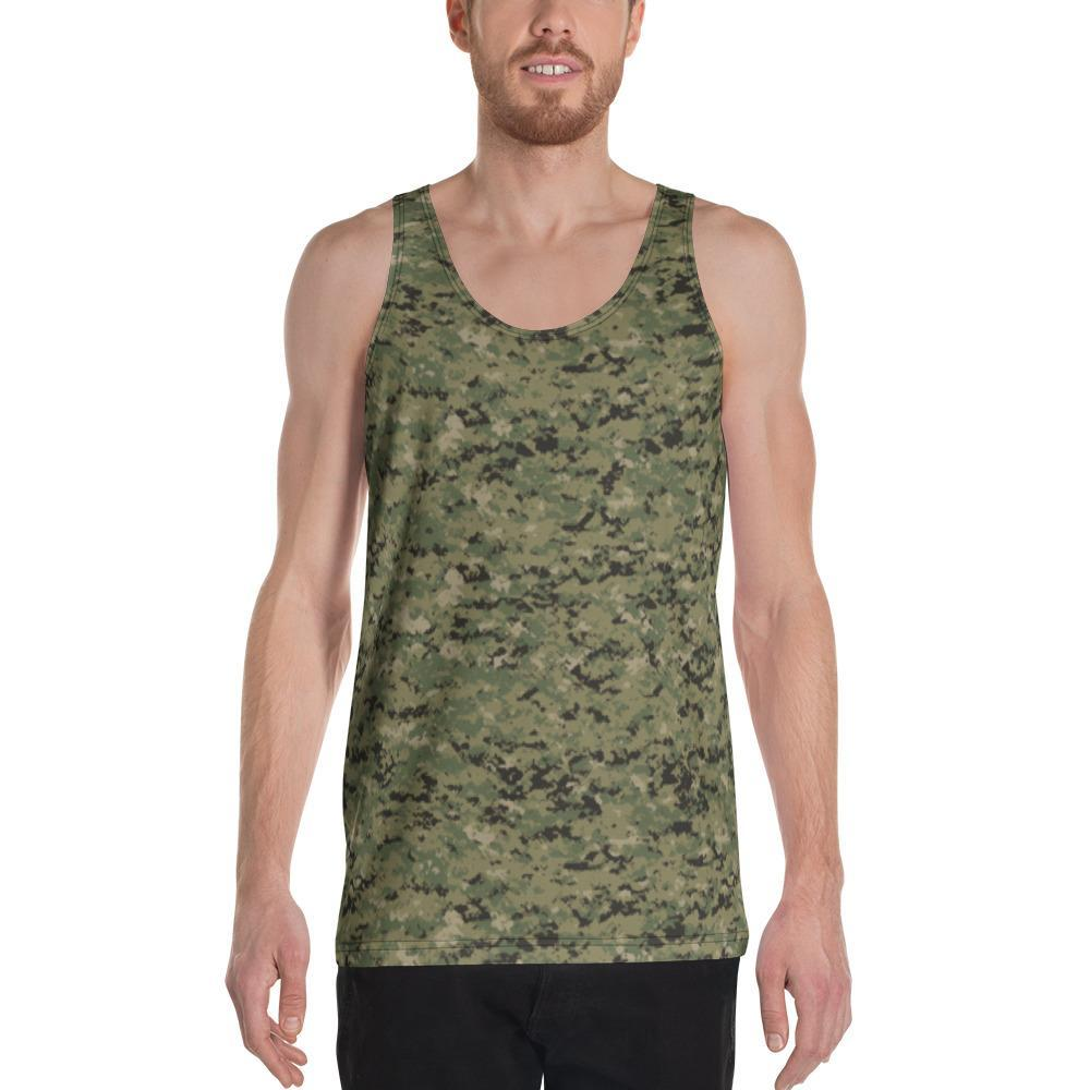 US AOR2 Camouflage Men's Tank Top