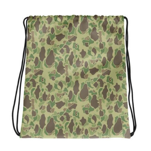US WWII Duck Hunter Summer Camouflage Drawstring Bag