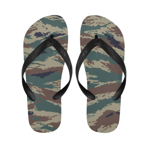 russian woodland kamysh Flip Flops for Men/Women Free Shipping