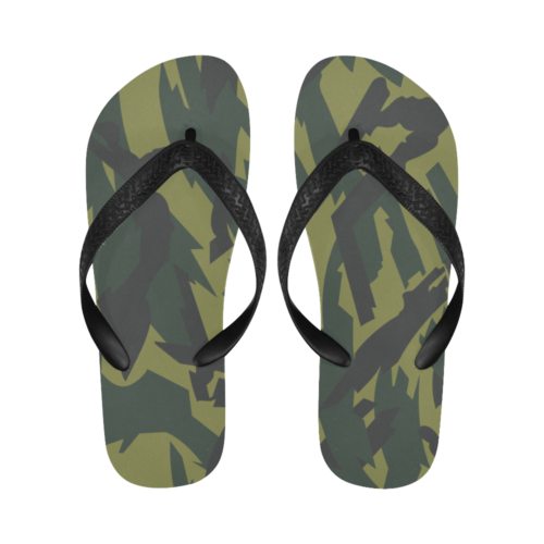 russian Green Underbrush Flip Flops for Men/Women Free Shipping