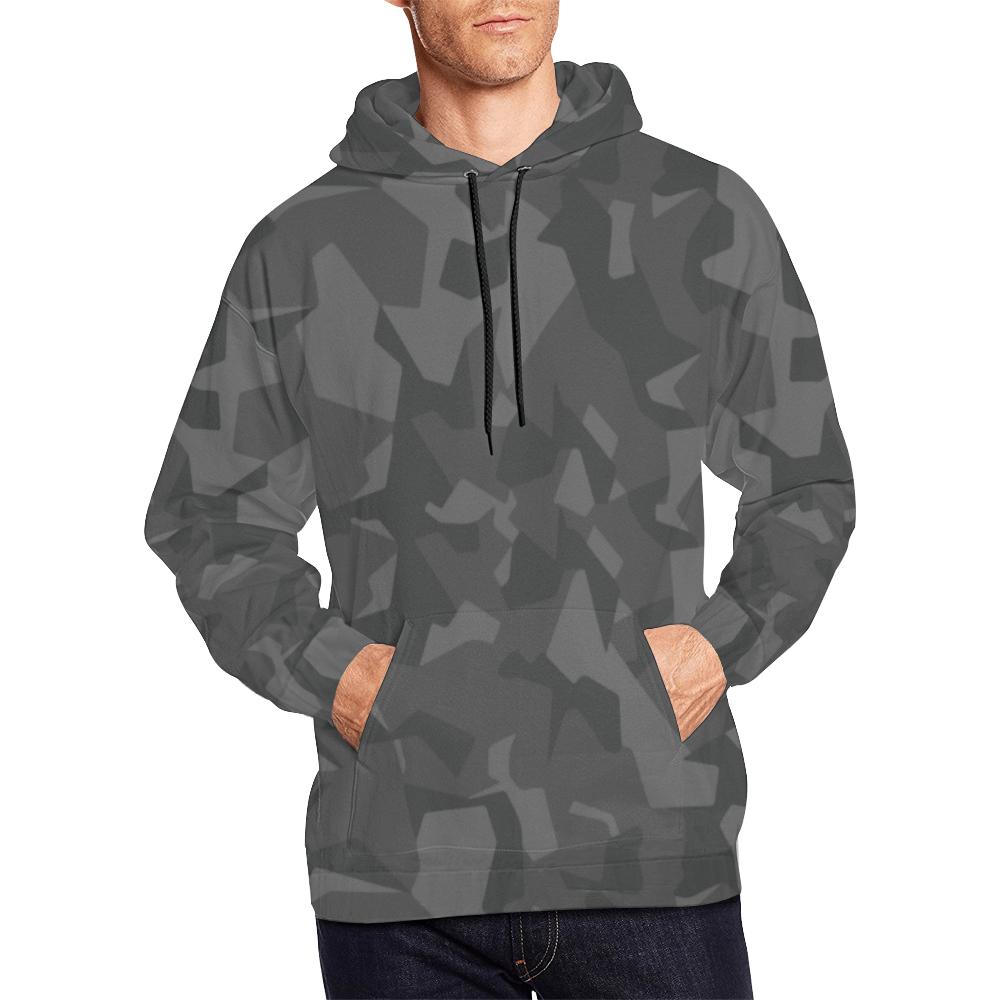 Swedish M90 Night camouflage Hoodie for Men
