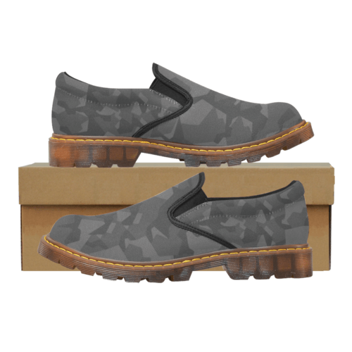 Swedish M90 Night Camouflage Martin Men's Slip-On Loafer