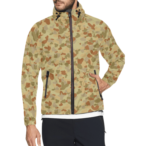 DESERT AUSCAM DPMU MID POINT camouflage Windbreaker for Men