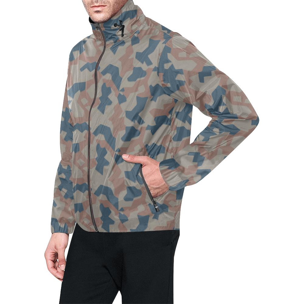 Bulgarian 1951 splinter camouflage Windbreaker for Men