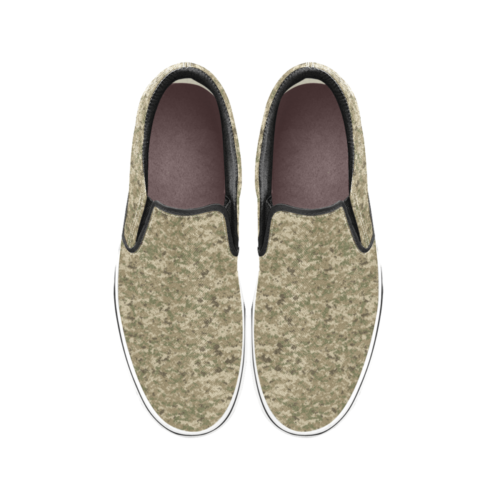 US AOR UNIVERSAL camouflage Men's Classic Slip-On Sneakers .