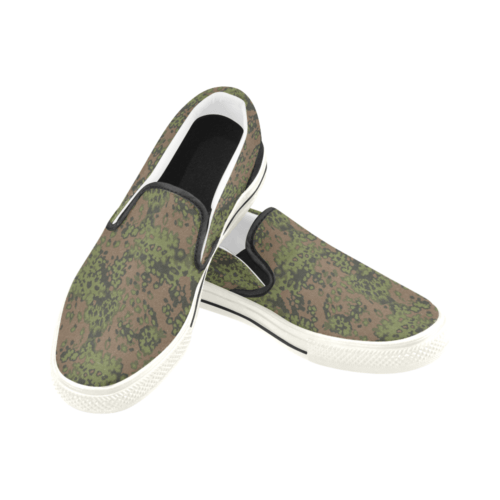 Eichenlaub summer Camouflage Men's Slip-on Canvas Skater Shoes
