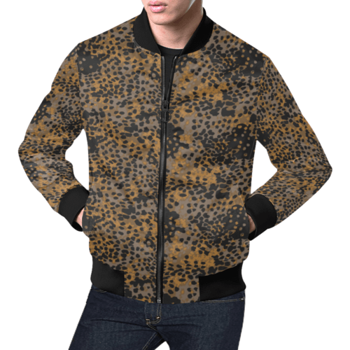 Platanenmuster fall camouflage Bomber Jacket