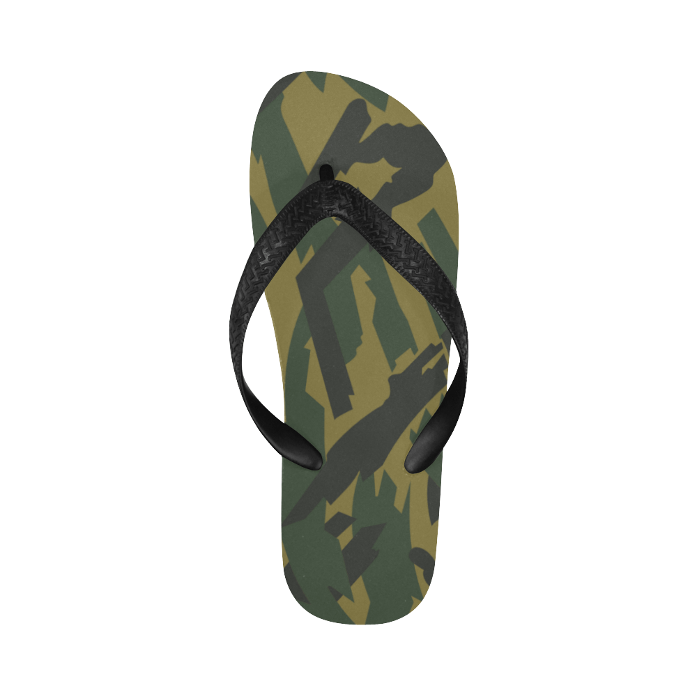 russian Brown Underbrush Flip Flops for Men/Women Free Shipping