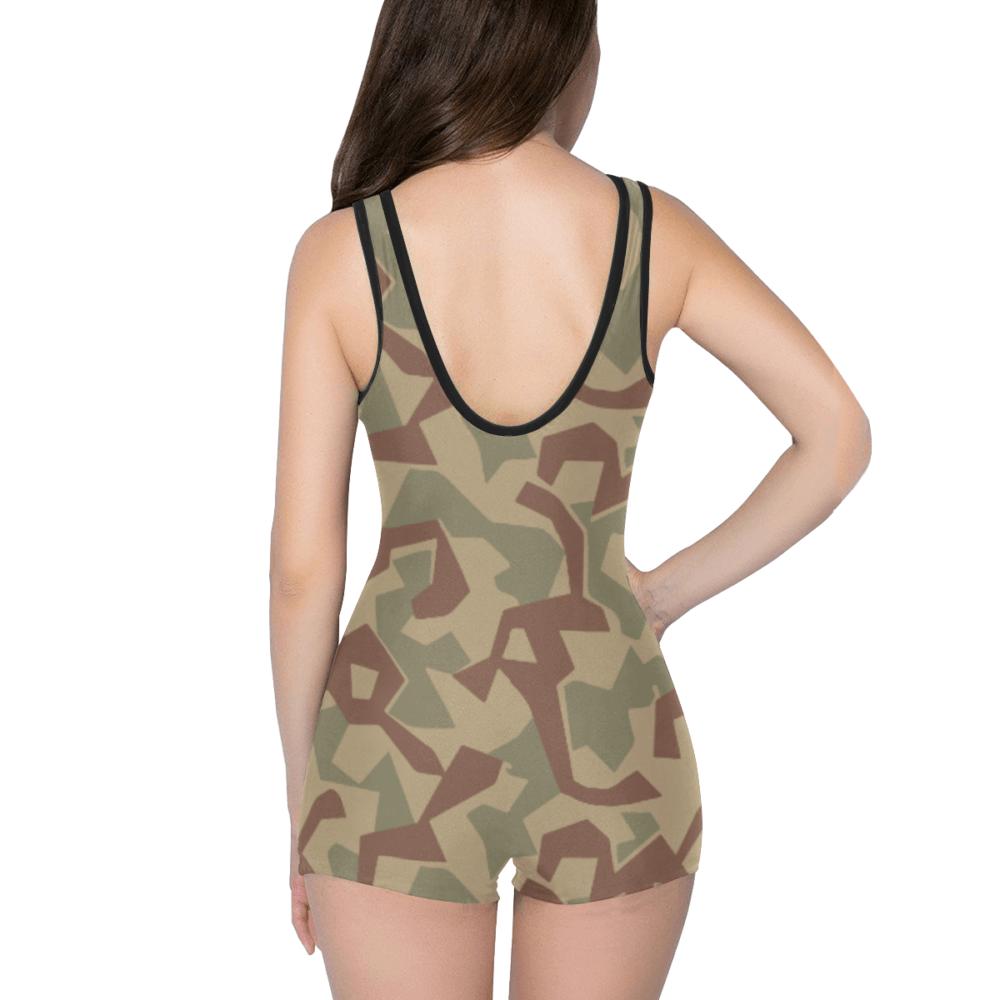 1946- bulgaria splinter camouflage Classic One Piece Swimwear