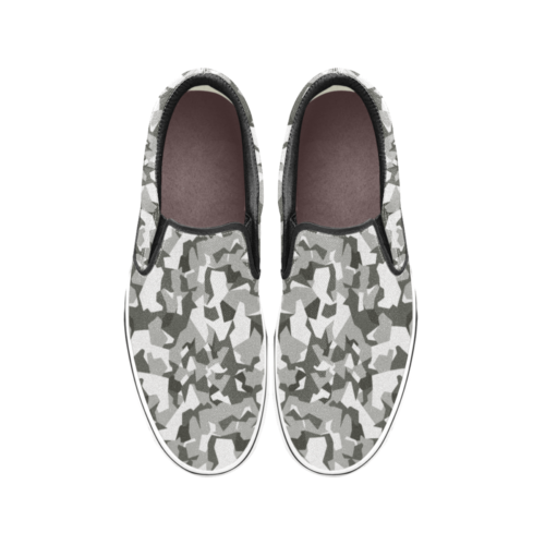 Swedish M90 Urban Camouflage Men's Classic Slip-On Sneakers .