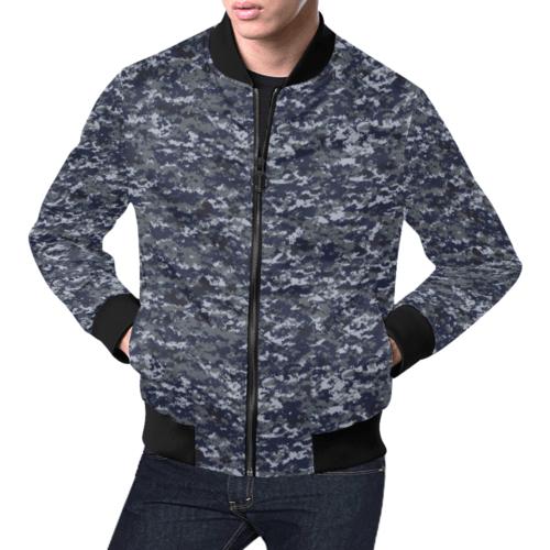 US NAVY NWUPAT Camouflage Bomber Jacket