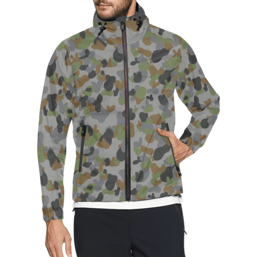 AUSCAM AFDPU camouflage Windbreaker for Men