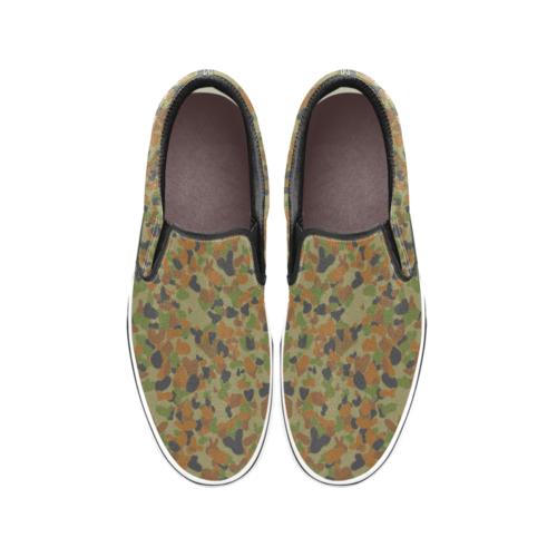 AUSCAM DPCU camouflage Men's Classic Slip-On Sneakers .