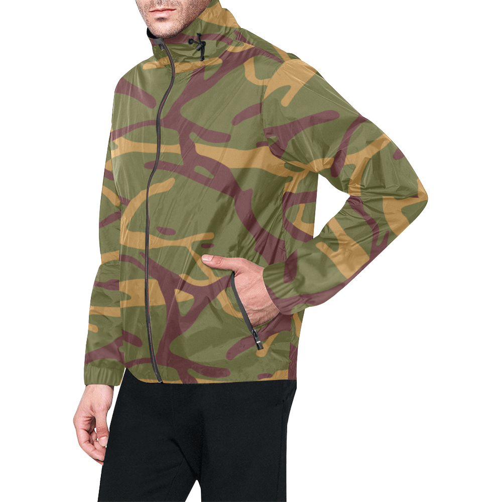 Yugoslav M68 MOL camouflage Windbreaker for Men
