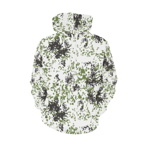 snow flecktarn  Schneetarn Fleck camouflage Hoodie for Men