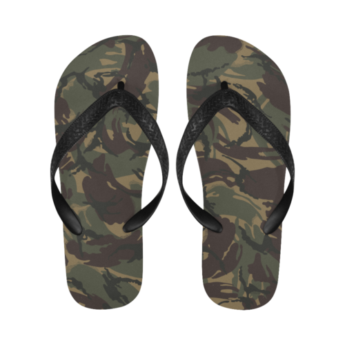 Russian Dark woodland DPM Flip Flops for Men/Women Free Shipping