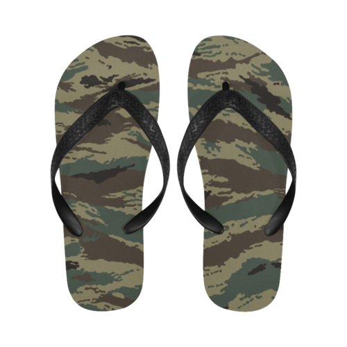 russian kamysh Tigr Flip Flops for Men/Women Free Shipping