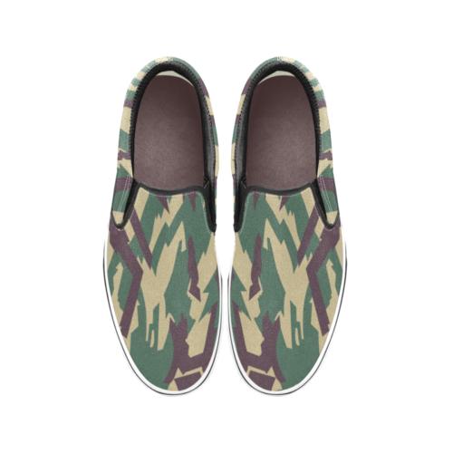 russian  underbrush Men's Classic Slip-On Sneakers .
