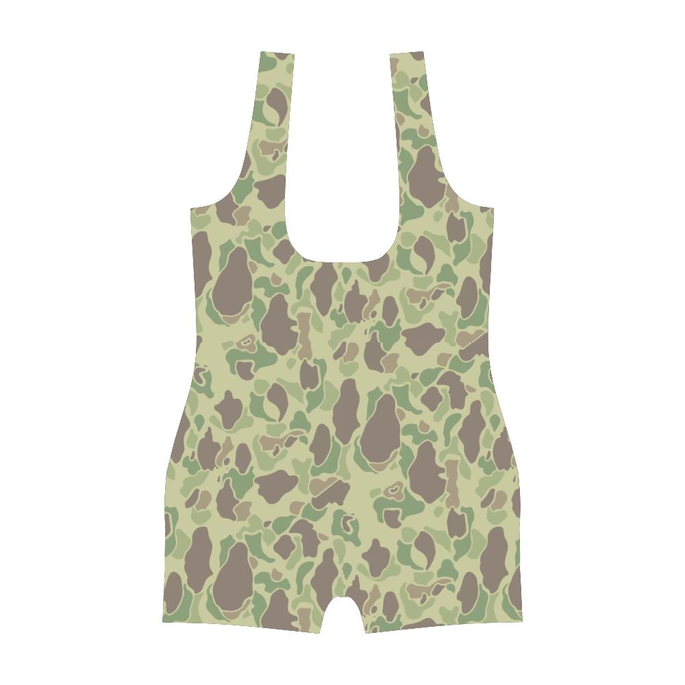 US duck hunter summer Camouflage Classic One Piece Swimwear
