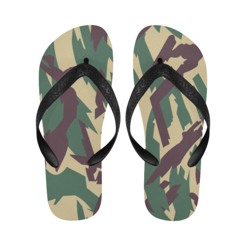 Russian underbrush Flip Flops for Men/Women Free Shipping