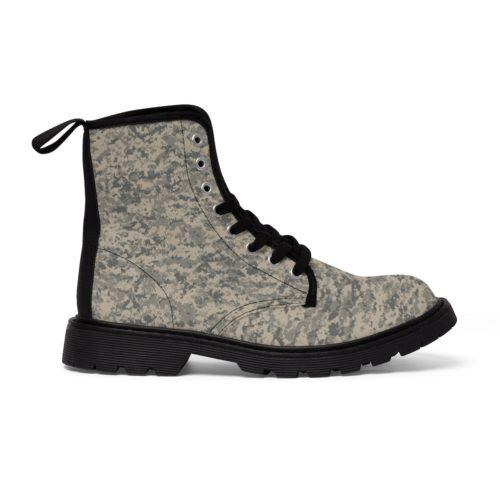 US UCP Camouflage Unique and Original Men's Martin Boots Free Shipping