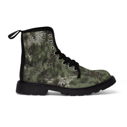 Kry Mandra Camouflage Unique and Original Men's Martin Boots Free Shipping