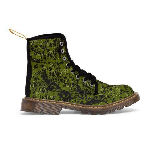 Danish M84 Woods Camouflage Unique and Original Men's Martin Boots Free Shipping