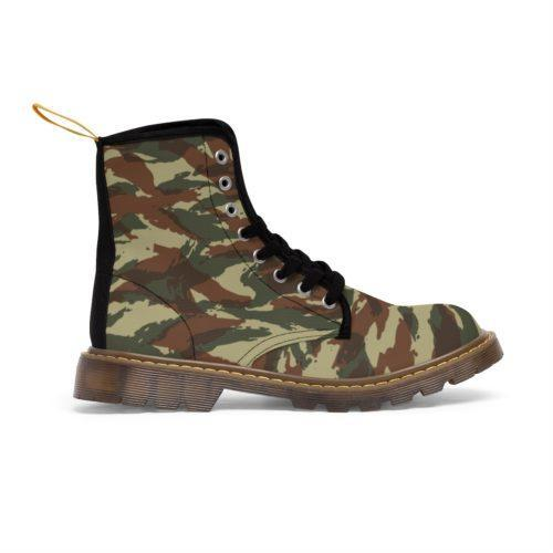 French Lizard A1 Camouflage Unique and Original Men's Martin Boots