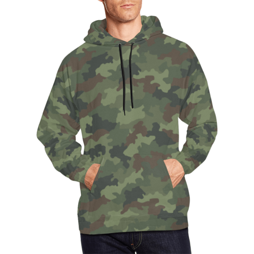 Yugoslav MD89 Hrastov List camouflage Hoodie