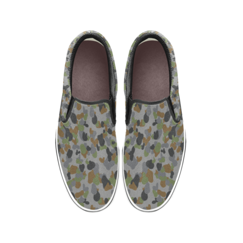 AUSCAM AFDPU camouflage Men's Classic Slip-On Sneakers .