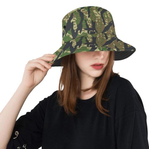 Russian rastr camouflage Bucket Hat
