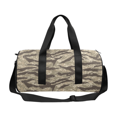 desert Tiger stripes camouflage Duffle Bag