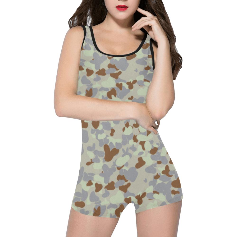 DESERT AUSCAM MKII camouflage Classic One Piece Swimwear