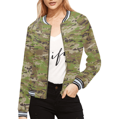Australian AMCU camouflage Bomber Jacket for Women