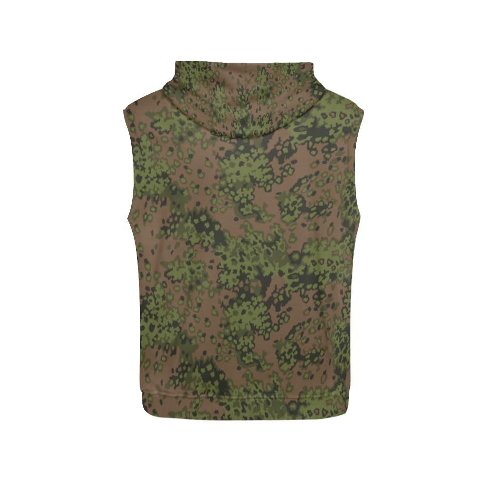 eichenlaub summer camouflage Sleeveless Hoodie for Men