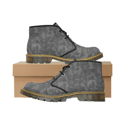 Swedish M90 Night Camouflage Men's Nubuck Chukka Boots