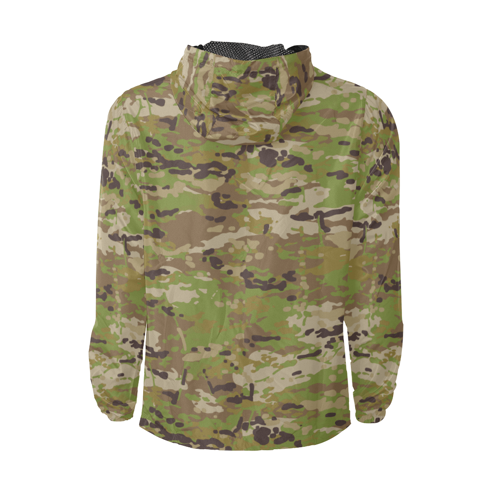 Australian AMCU camouflage Windbreaker for Men