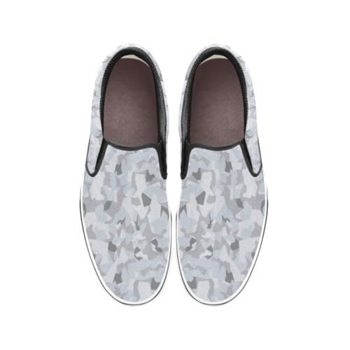 Swedish M90 Winter Camouflage Men's Classic Slip-On Sneakers .