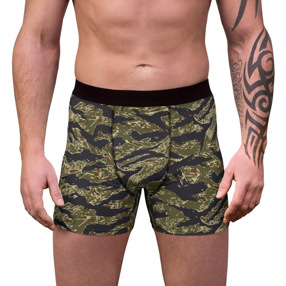 US Tiger Stripes Jungle Camouflage Men's Boxer Briefs Free Shipping