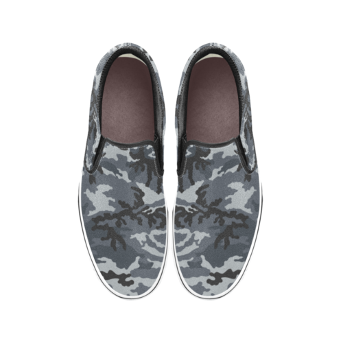 Russian Gorod Urban Men's Classic Slip-On Sneakers .