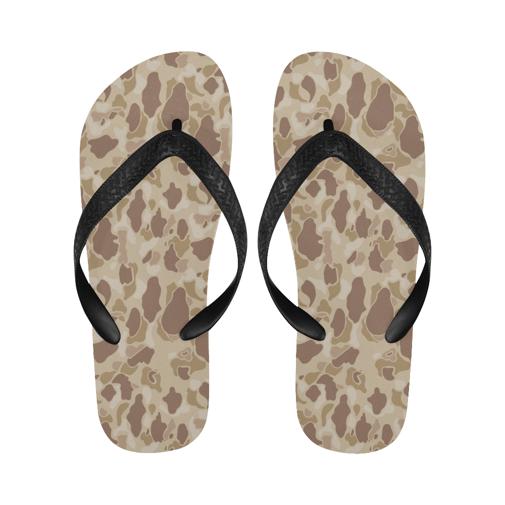 US duck hunter autumn camouflage Flip Flops for Men/Women Free Shipping