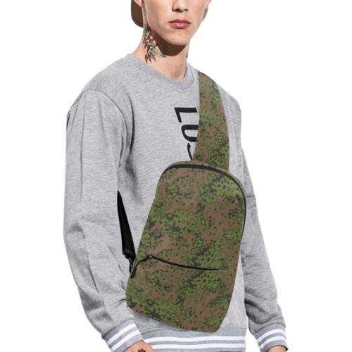 German Eichenlaub summer camouflage Chest Bag