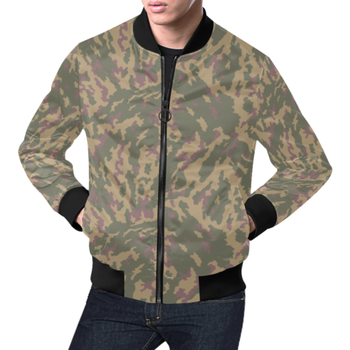 Russian VSR 3TsV Highland-Dubok Camouflage Bomber Jacket for Men